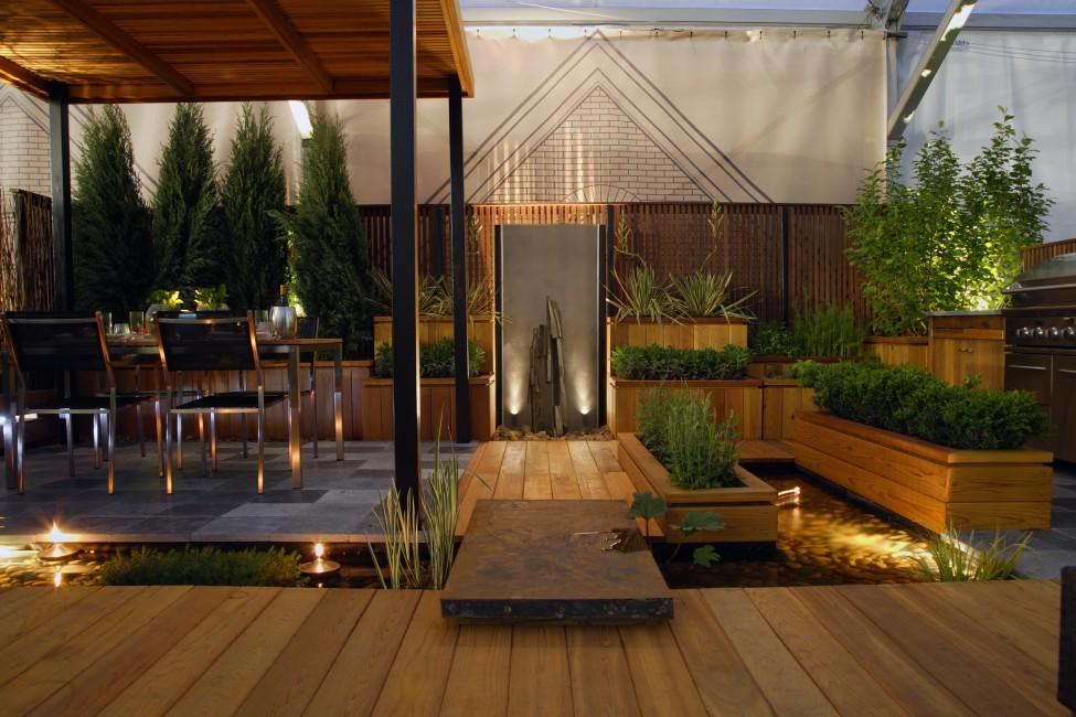 garden in a city 2