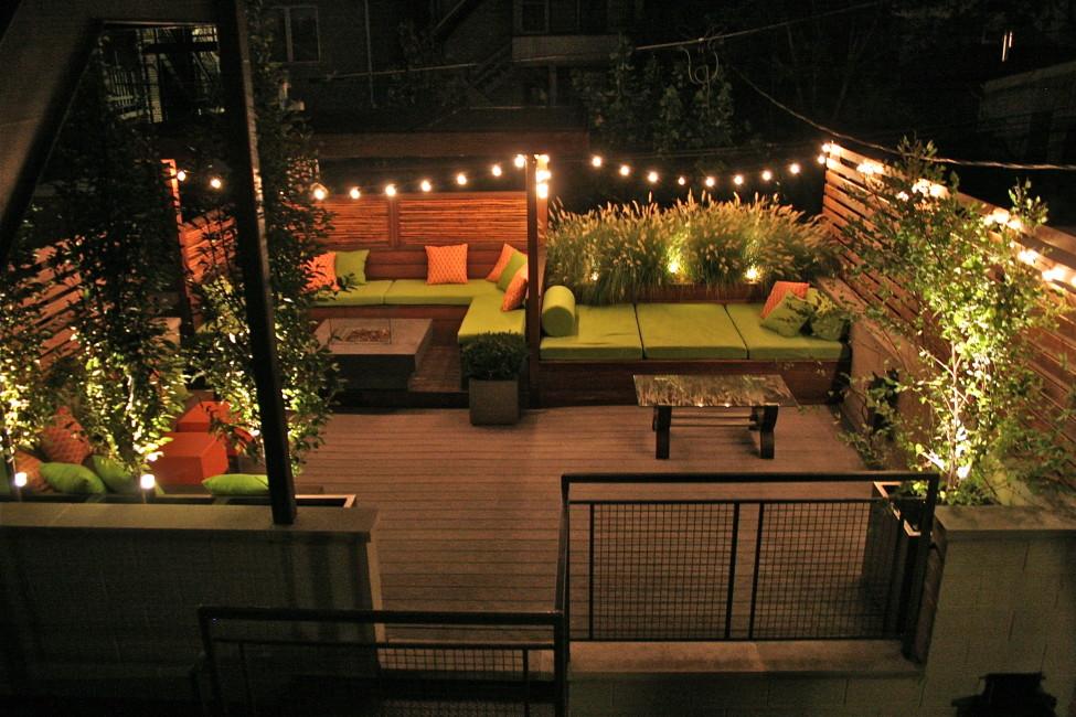 Wicker Park Evening Garden Superior Terrace