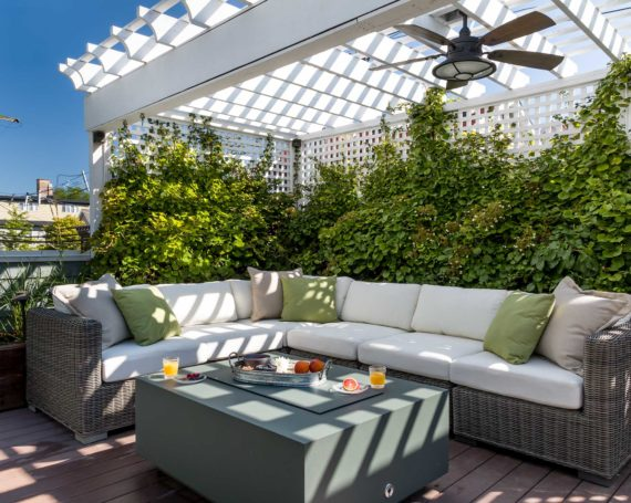 A Fruitful Roof Deck